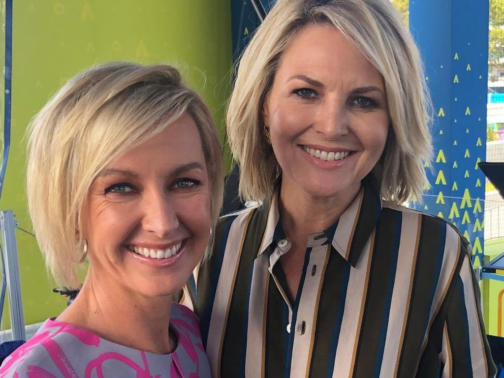 Deb co-hosts the morning breakfast show with Georgie Gardner.
