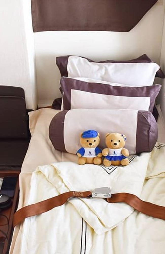Get cosy on Singapore Airlines.