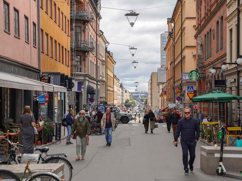 This picture taken in Stockholm, Sweden, on August 31, 2020. Picture: Tom LITTLE / AFP
