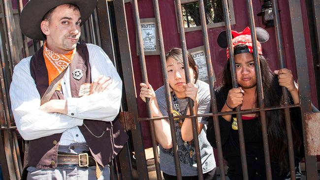 "There's a Disney Jail ... and actor Blake Lively was once sent thereDisneyland guests who misbehave or break the rules could find themselves thrown in the 'Disney jail'. According to an ex employee on Reddit ""It's a room over the candy shop on main street. There's an officer back there who then transfers people to the local jail in town."" In an interview Blake Lively revealed she was sent to Disney jail for trying to sneak in with her brother when she was six-years-old. She ended up being banned for a year after they were caught sharing re-entry stamps on their hands."