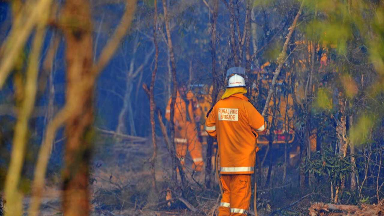 BUSH FIRE: Where you live determines your fire risk. Picture: Paul Donaldson BUN091016RURAL2