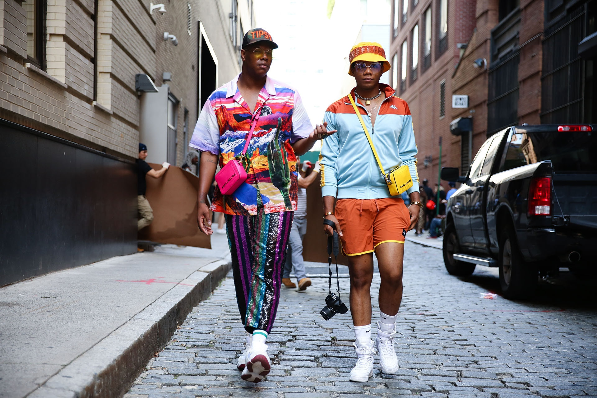 All The Men's Street Style At New York Fashion Week Spring RTW 2020