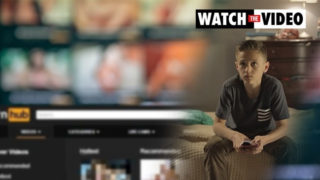 What to do if you find your child watching porn