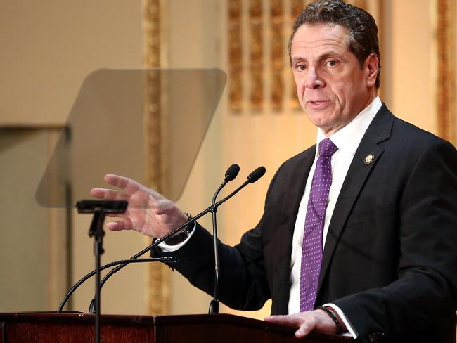 Governor of New York State Andrew Cuomo declared a state of emeregency.  Picture:  Getty