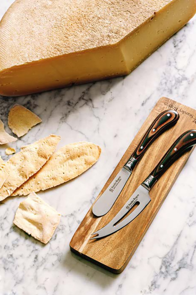Subscribe to Vogue Living now for your exclusive cheese knife set