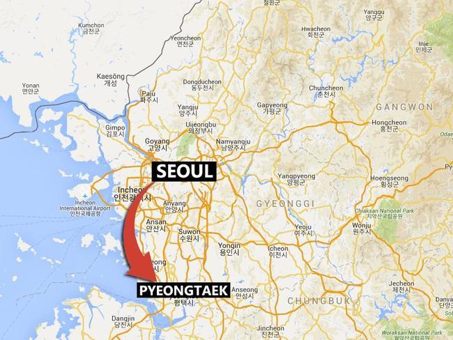 Camp Humphreys has moved from Seoul to Pyeongtaek.