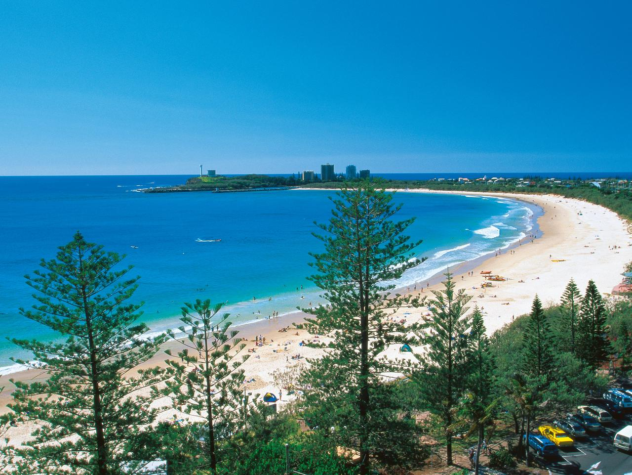 Mooloolaba Beach is one of Australia's best. Picture: Tourism Queensland.