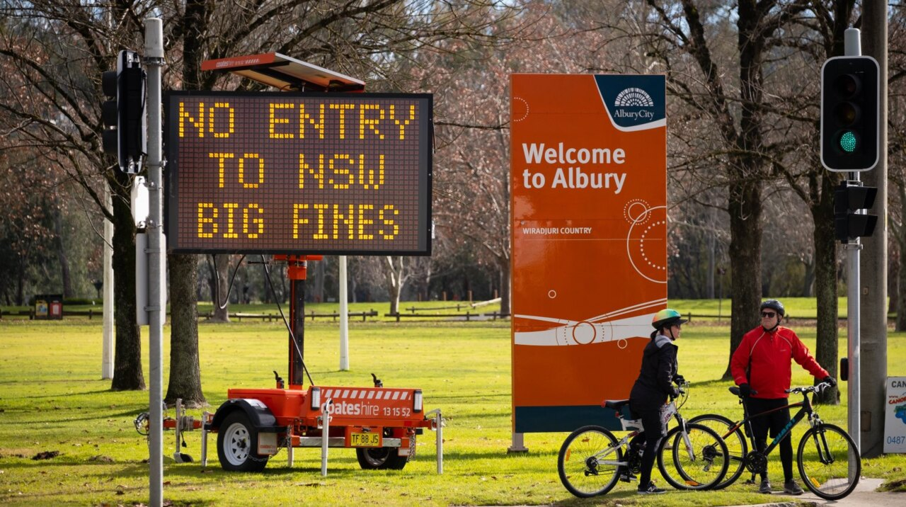 Albury-Wodonga division continues as NSW-Vic border talks stagnate