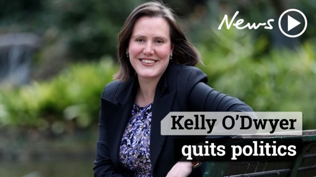 Kelly O'Dwyer quits politics