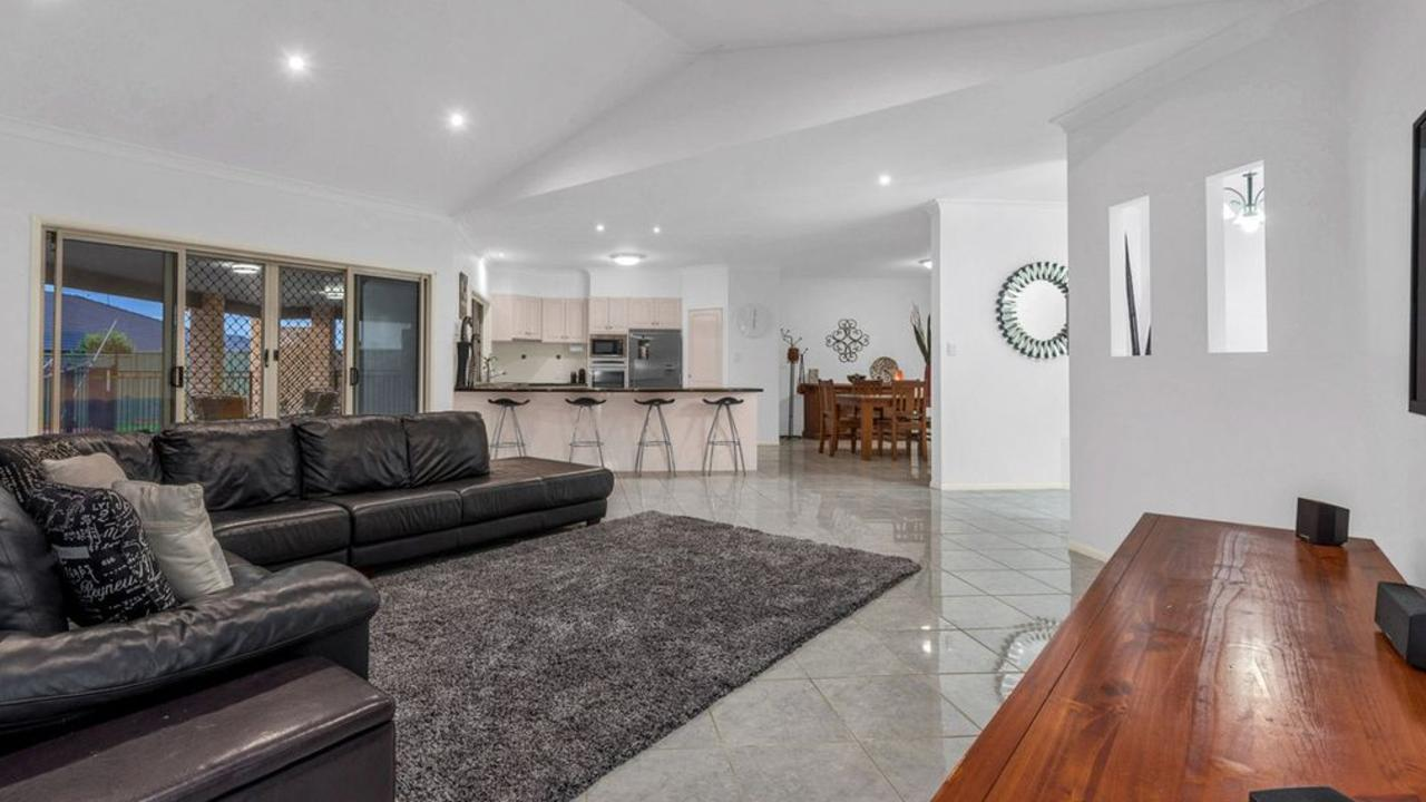 Inside the house at 20 Mayfair Close, Wishart.