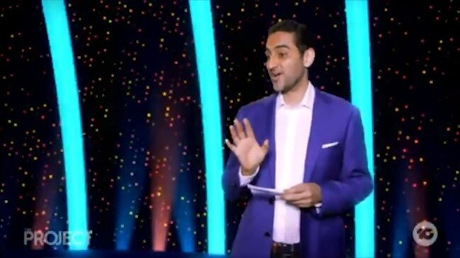 Waleed Aly does 'fact check' on Australia Day (The Project)