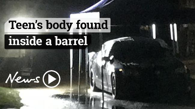 Body of teenage girl found inside barrel