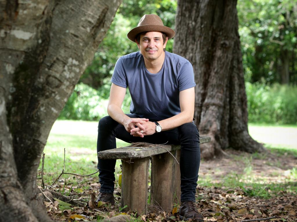 Come write with me ... acclaimed author Trent Dalton has an invitation for Aussie youngsters. Picture: Steve Pohlner