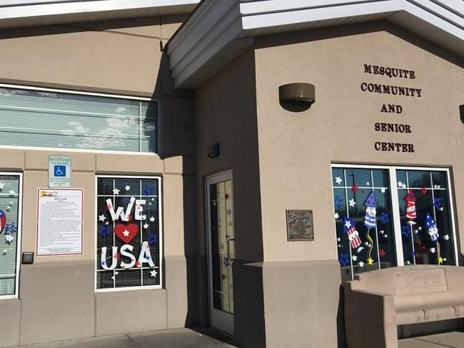 The Mesquite Community and Senior Centre where Vegas gunman Stephen Paddock would get cheap meals. Picture: Facebook