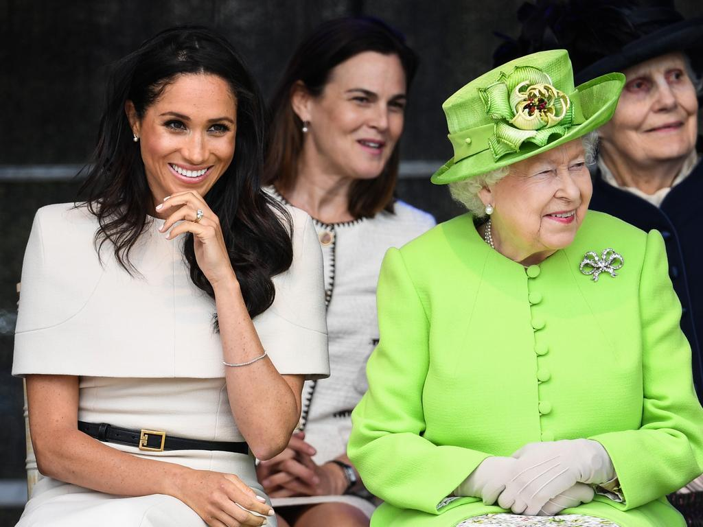 The Queen is expected to host a celebration for Meghan's birthday. Picture: Jeff J Mitchell/Getty Images