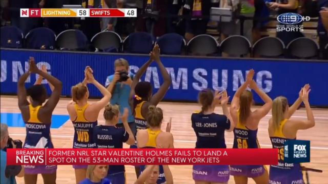 Lightning into Final after defeating Swifts