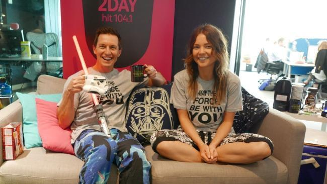 Rove and Sam Frost stay up all night watching Star Wars