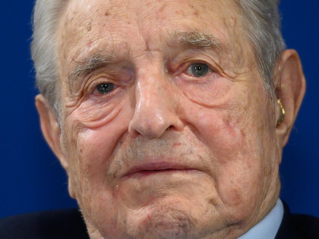 US investor and philanthropist George Soros, who Rubin worked for. Picture: AFP
