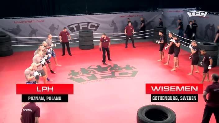 Fight 1 of the TFC Event 1 LPH (Poznan, Poland) vs Wisemen (Gothenburg, Sweden)