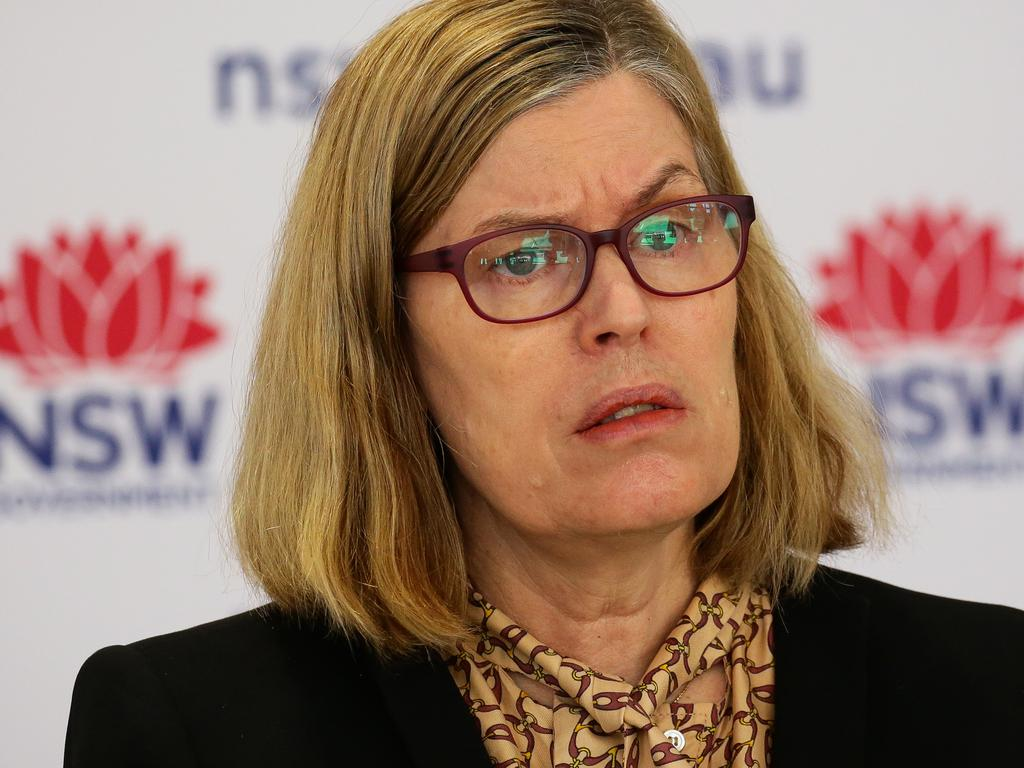 Chief health officer Dr Kerry Chant said most transmission was happening around shopping centres. Picture: NCA Newswire /Gaye Gerard
