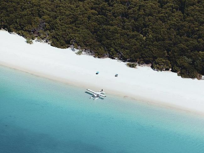 9. Whitehaven Beach, Whitsunday Island. Picture: Jason Hill and Tourism and Events Queensland