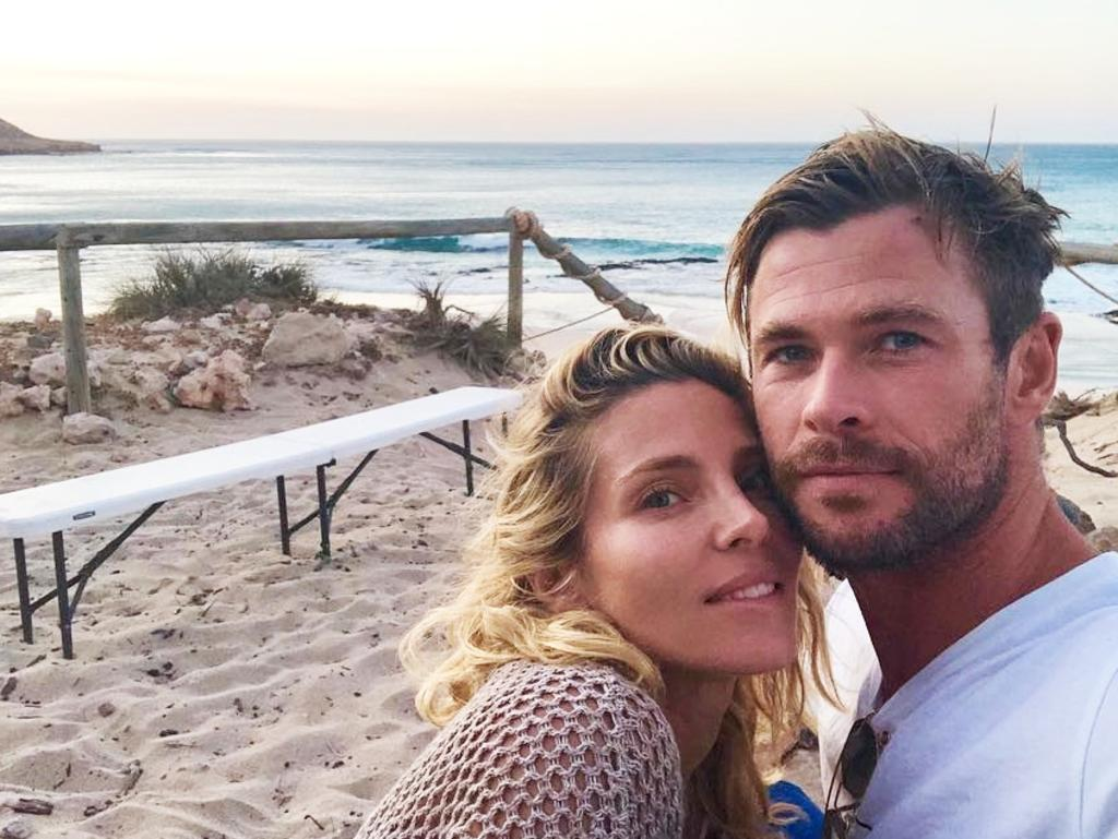 Chris Hemsworth and Elsa Pataky have called Byron Bay home since 2014. Picture: Instagram