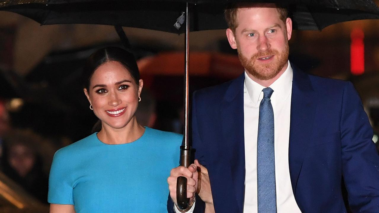 Meghan and Harry threw their support behind Black Lives Matter. Picture: DANIEL LEAL-OLIVAS / AFP