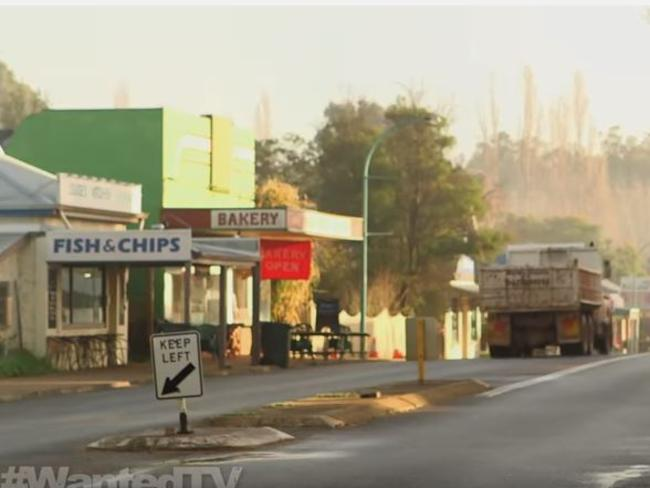 Chantelle McDougall was a sometime employee at this fish and chip shop in Nannup