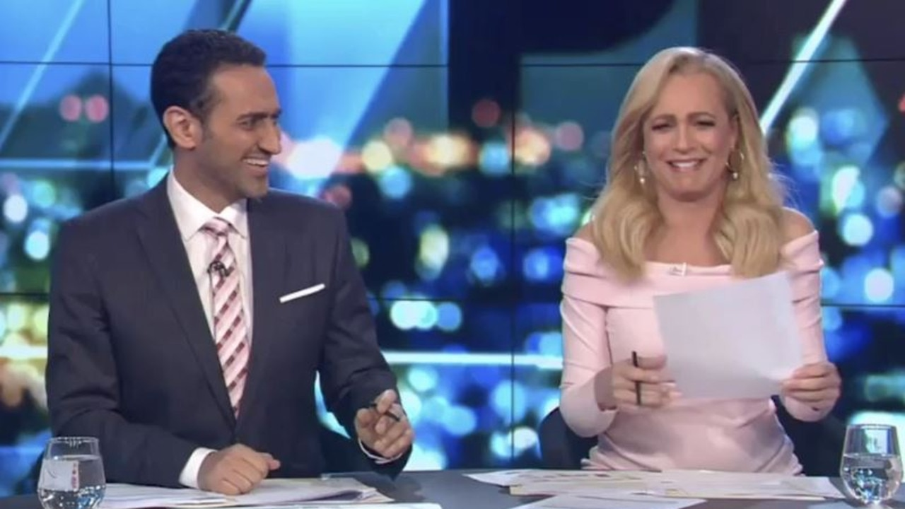 Bickmore shuffled her papers awkwardly as she struggled to compose herself