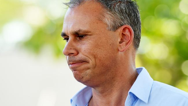 The CLP can't consider changing the party leadership of Adam Giles so close to the Territory election. PICTURE: Elise Derwin