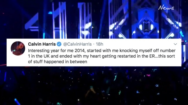 The twitter video that got Calvin Harris to talk about his health issues