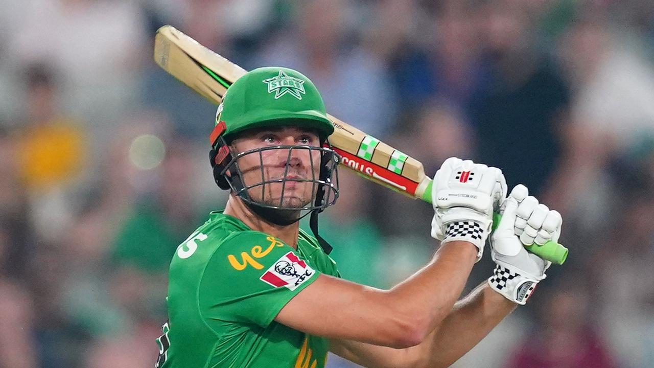 Marcus Stoinis set a new record for the most runs in a BBL campaign last summer.
