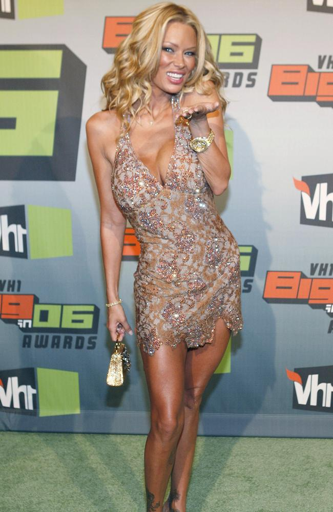 Jenna Jameson, seen here in 2006, had an affair with Manson in the late '90s. Picture: AP