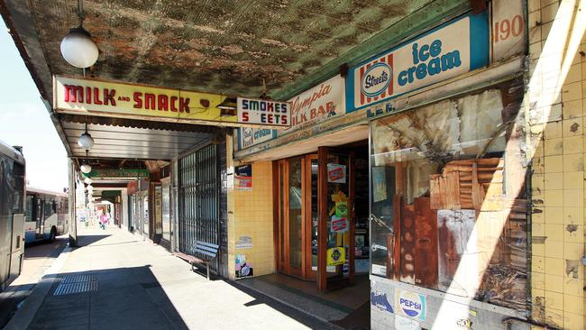 Olympia Milk Bar on Parramatta Road at Stanmore is closing down.