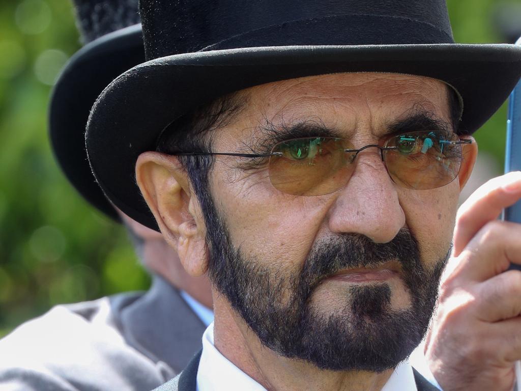 Sheik Mohammed bin Rashid Al Maktoum at this year's Royal Ascot carnival. Picture: Chris Jackson/Getty Images