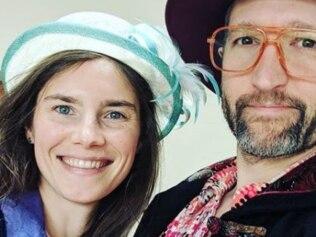 Amanda Knox is crowdfunding her sci-fi wedding. Image: Instagram