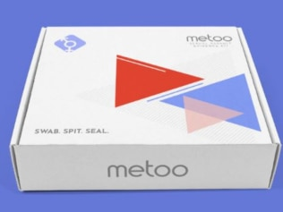 The controversial Me Too at-home rape kit. Image: MeToo