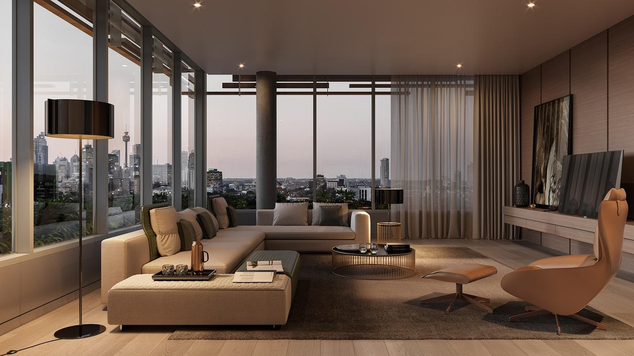 Three Japanese-inspired penthouses have hit the market.