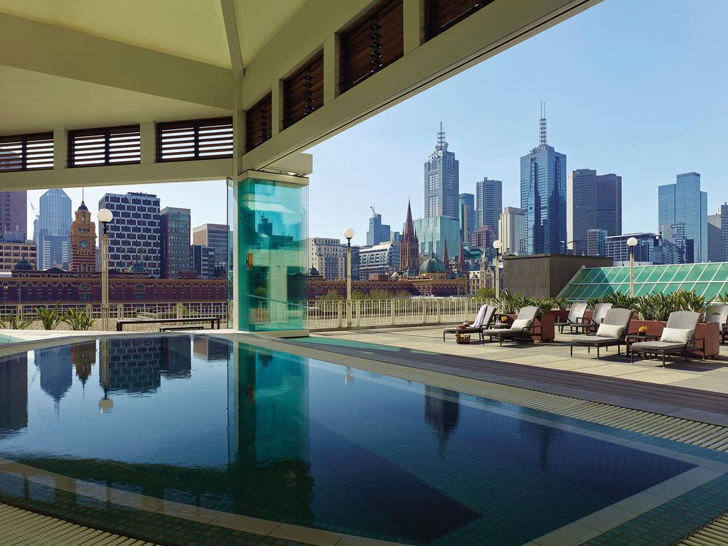 Experience the jacuzzi at The Langham Melbourne.