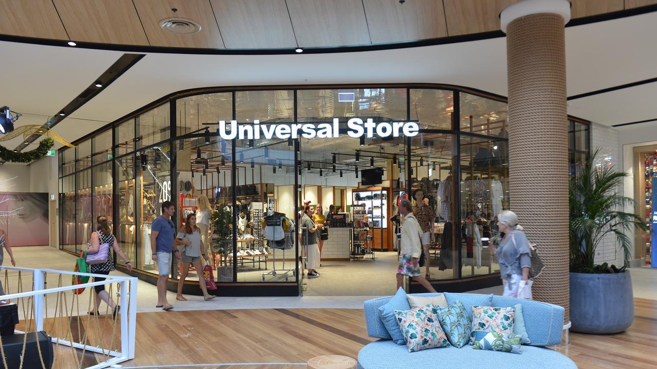 Universal Store at the Sunshine Coast Plaza.