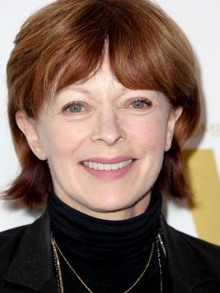 You might remember Frances Fisher from Titanic.