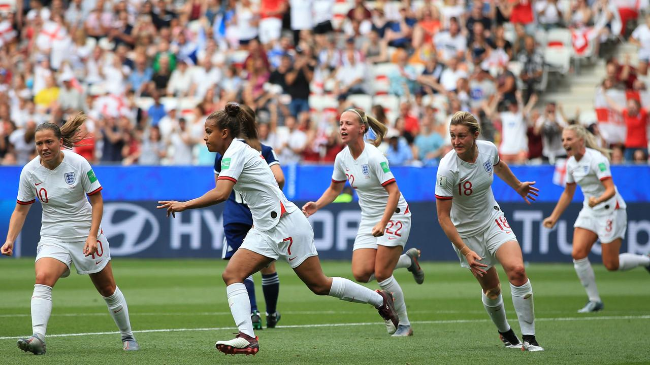 England got their World Cup campaign off to a winning start.