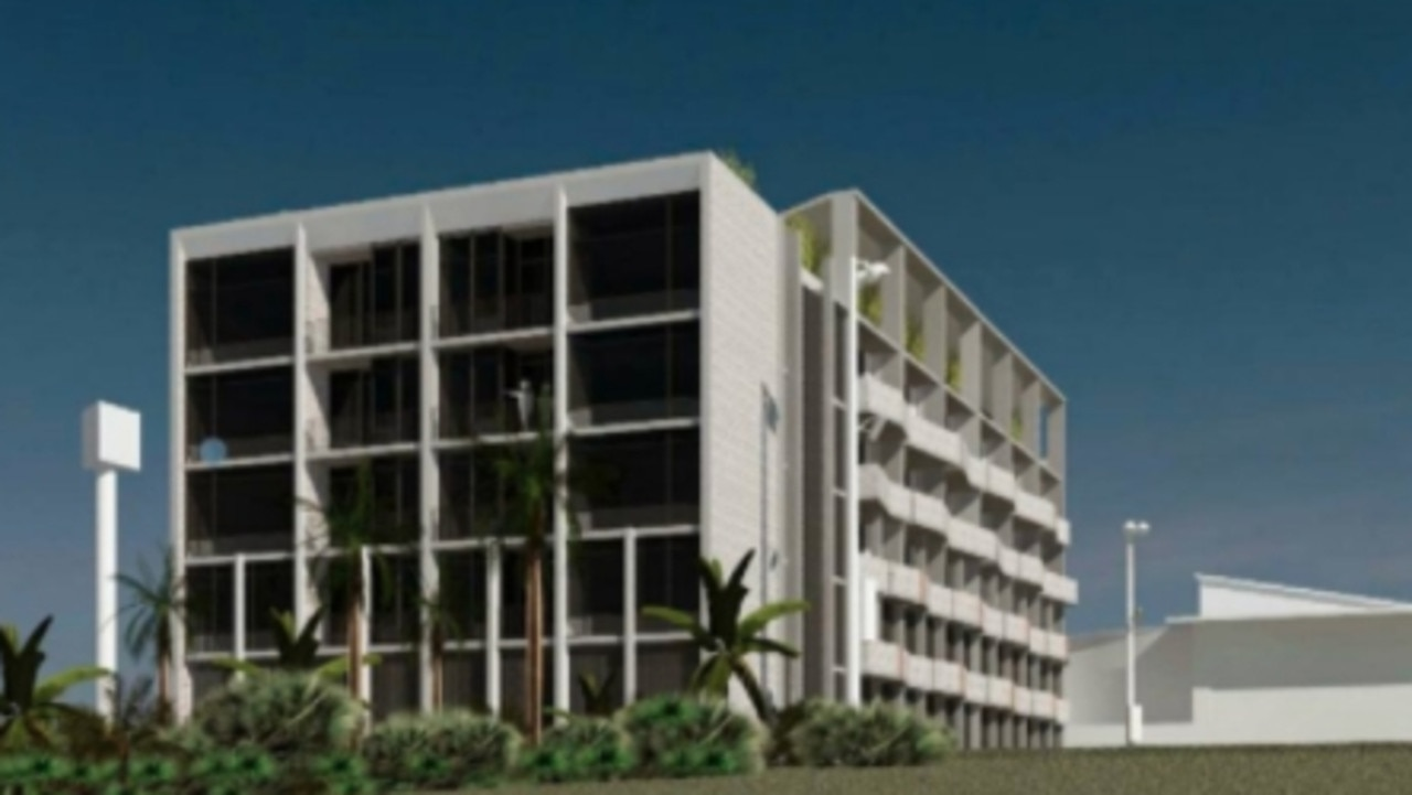 Plans have been lodged for a four-star hotel at South West Rocks. Pic Buck and Simple
