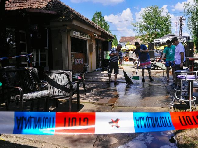 A man has opened fire at a cafe, killing five people. Picture: AFP/Alexa Stankovic
