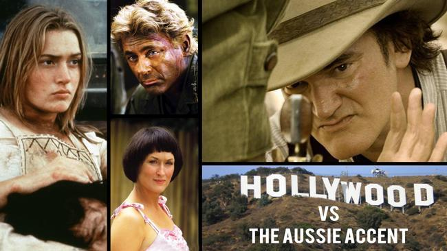 Hollywood vs the Aussie accent