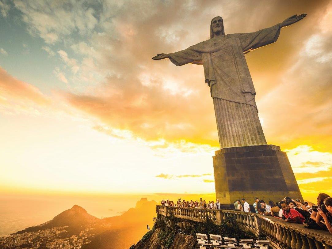 Supplied Editorial Rio de Janeiro's Christ the Redeemer Statue for phil Hoffmann Travel supp Escape 24/7/16
