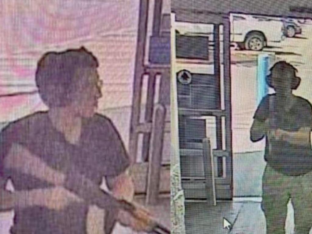 Surveillance footage shows Patrick Crusius, the man suspected of shooting and killing 20 people in El Paso, Texas.