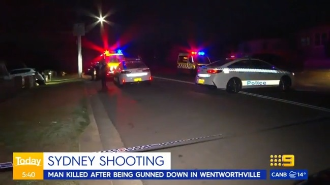 Man dead after being shot at home in Sydney's western suburbs (The Today Show)