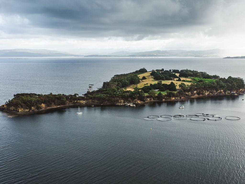 Satellite Island, Tasmania. Picture: Adam Gibson