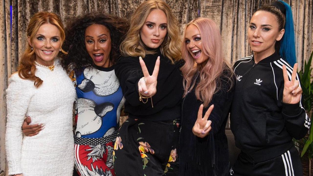 Fans first noticed her weight loss after this photo was posted during the Spice Girls' tour.